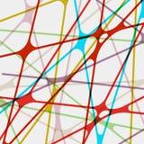 Kleurrijke abstracte achtergrond. + EPS8 Stock Foto