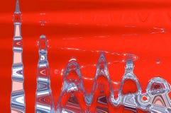 kleurrijke abstracte achtergrond, golftextuur Royalty-vrije Stock Afbeelding