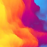 Kleurrijke abstracte achtergrond Het malplaatje van het ontwerp Modern patroon Vector illustratie voor uw zoet water design Royalty-vrije Stock Foto