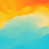 Kleurrijke abstracte achtergrond Het malplaatje van het ontwerp Modern patroon Vector illustratie voor uw zoet water design Royalty-vrije Stock Fotografie