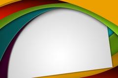 Kleurrijke Abstracte Achtergrond met Exemplaarruimte Stock Foto's