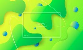 Kleurrijke abstracte achtergrond met geometrische vormen stock illustratie