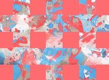 Kleurrijke abstracte achtergrond met strepen Stock Afbeeldingen