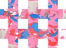 Kleurrijke abstracte achtergrond met strepen Stock Foto's