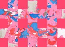 Kleurrijke abstracte achtergrond met strepen Royalty-vrije Stock Afbeelding