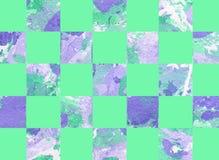 Kleurrijke abstracte achtergrond met vierkanten Stock Foto