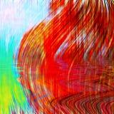 Kleurrijke abstracte achtergrond of textuur Royalty-vrije Stock Foto