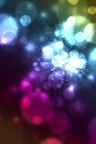 Kleurrijke abstracte achtergrond van bellen Royalty-vrije Stock Foto