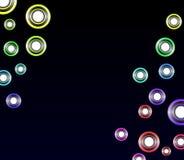 Kleurrijke Abstracte Achtergrond Vect Stock Afbeeldingen