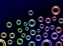 Kleurrijke Abstracte Achtergrond Vect Royalty-vrije Stock Foto's