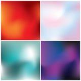 Kleurrijke abstracte achtergronden Stock Afbeelding