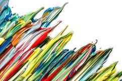 Kleurrijke abstracte acryl Het druipen van de verf stock afbeeldingen