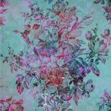 Kleurrijke abstracte bloemenachtergrond Stock Foto's