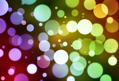Kleurrijke abstracte bokehachtergrond Royalty-vrije Stock Afbeelding