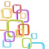 Kleurrijke abstracte copyspaceachtergrond Royalty-vrije Stock Foto's