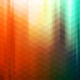Kleurrijke Abstracte Geometrische Vectorachtergrond Stock Foto