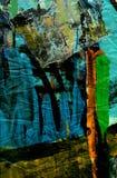 Het abstracte schilderen. Royalty-vrije Stock Foto