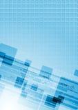 Kleurrijke abstracte hi-tech vector Stock Foto