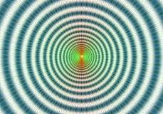Kleurrijke abstracte hypnotic abstracte achtergrond Stock Afbeelding