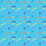 Kleurrijke abstracte krabbelachtergrond Royalty-vrije Stock Fotografie