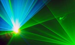 Kleurrijke abstracte Laserlight-Achtergrond met ruimte voor tekst of Stock Afbeeldingen