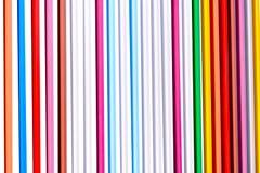 Kleurrijke abstracte lijnen op een witte achtergrond Stock Foto's