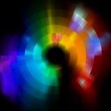 Kleurrijke abstracte mozaïekachtergrond. EPS 8 Stock Foto's