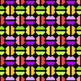 Kleurrijke abstracte naadloze achtergrond Stock Foto's