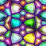 Kleurrijke Abstracte Naadloze Textuur royalty-vrije illustratie