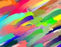 Kleurrijke abstracte pastelkleurachtergrond stock illustratie