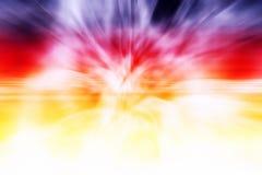 Kleurrijke Abstracte Plons Stock Foto's