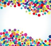 Kleurrijke abstracte puntachtergrond stock illustratie