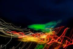 Kleurrijke abstracte stralen van lichte abstracte achtergrond royalty-vrije stock afbeeldingen
