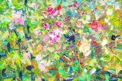 Kleurrijke abstracte textuur als achtergrond Stock Foto