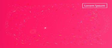Kleurrijke abstracte ultra brede ruimteachtergrond vector illustratie