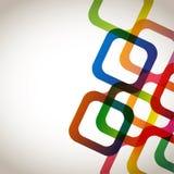 Kleurrijke Abstracte Vierkanten Royalty-vrije Stock Foto's