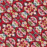 Kleurrijke abstracte vormenachtergrond Royalty-vrije Stock Fotografie