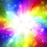 Kleurrijke abstractie Vector Illustratie