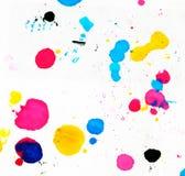 Kleurrijke abstractie op het document Stock Foto's