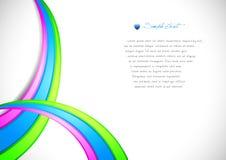 Kleurrijke achtergrond. Stock Afbeelding