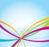 Kleurrijke achtergrond vector illustratie