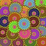 Kleurrijke Achtergrond Stock Afbeelding
