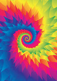 Kleurrijke achtergrond stock illustratie