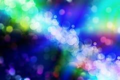 Kleurrijke achtergrond bokeh Stock Afbeelding