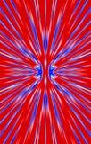 Kleurrijke achtergrond De stralen divergeren van het midden aan de randen vector illustratie