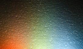 Kleurrijke achtergrond Het mengen van verschillende kleuren van licht Royalty-vrije Stock Foto
