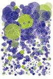 Kleurrijke achtergrond met bellen Stock Afbeelding