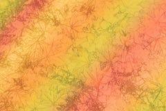 Kleurrijke achtergrond met bladeren Stock Afbeeldingen