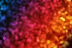 Kleurrijke Achtergrond met Frosty Effect Royalty-vrije Stock Afbeeldingen