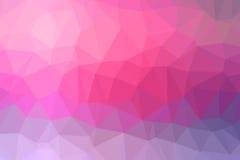Kleurrijke achtergrond van driehoeken lage poly Stock Foto
